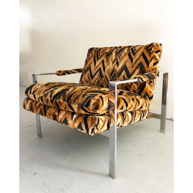 1960s Mid Century Modern Milo Baughman Lounge Chair For Sale - Image 5 of 7