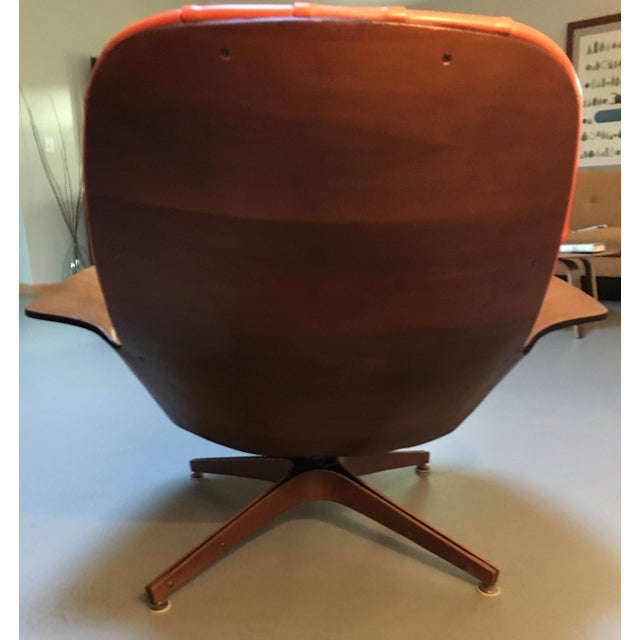 1960's PlyCraft Lounge Chair & Ottoman For Sale - Image 5 of 10