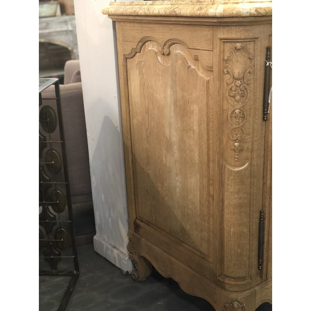 Early 20th Century French Regency Marble Top Enfilade For Sale - Image 5 of 7
