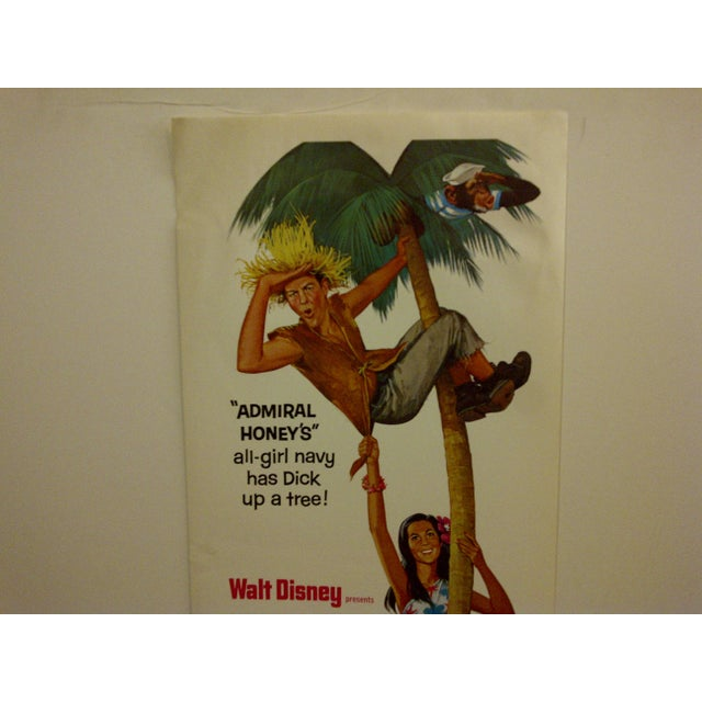 """Lt. Robin Crusoe, U.S.N."" Vintage Movie Poster For Sale - Image 4 of 5"