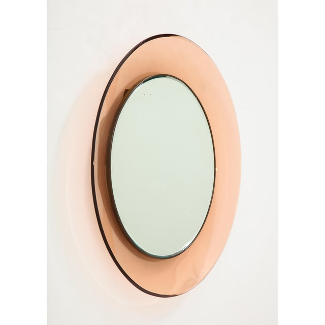 Circular Wall Mirror by Max Ingrand for Fontana Arte - Image 8 of 9