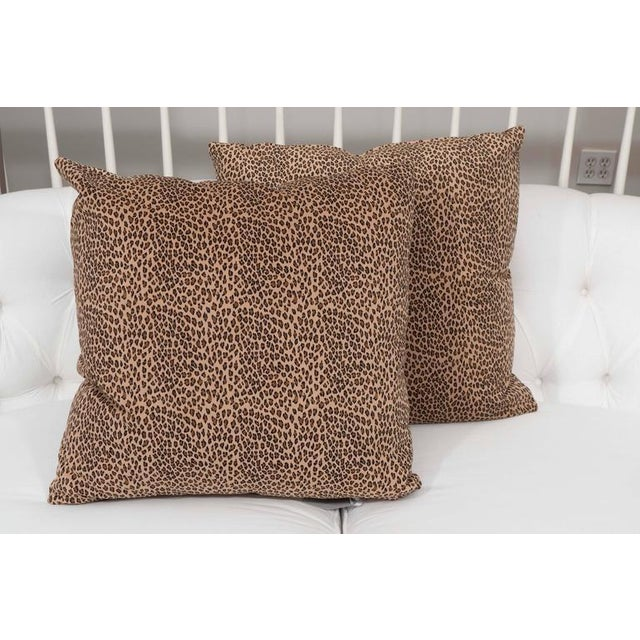 We believe that animal prints can be neutral because they can go with just about anything. This pair of cushions in a...