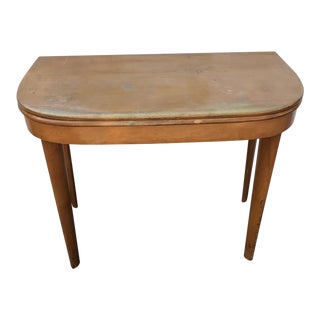 Mid Century Modern Hall Table by Heywood Wakefield
