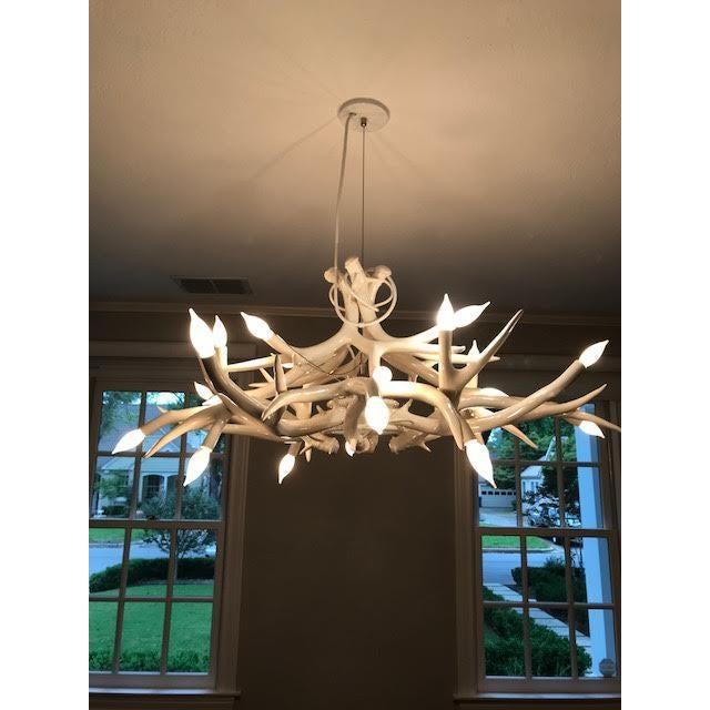 Design within reach superordinate antler chandelier chairish design within reach superordinate antler chandelier image 4 of 5 mozeypictures Image collections