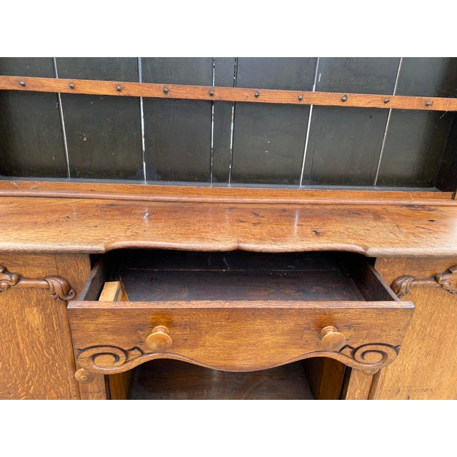 Early 19th Century Antique Welsh Dresser/Cupboard For Sale - Image 5 of 13