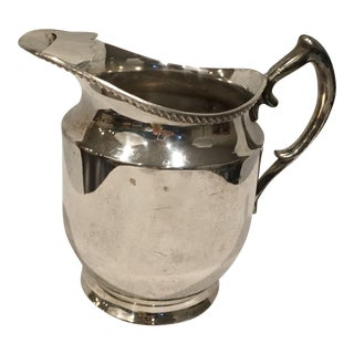 Poole Siverplate Pitcher