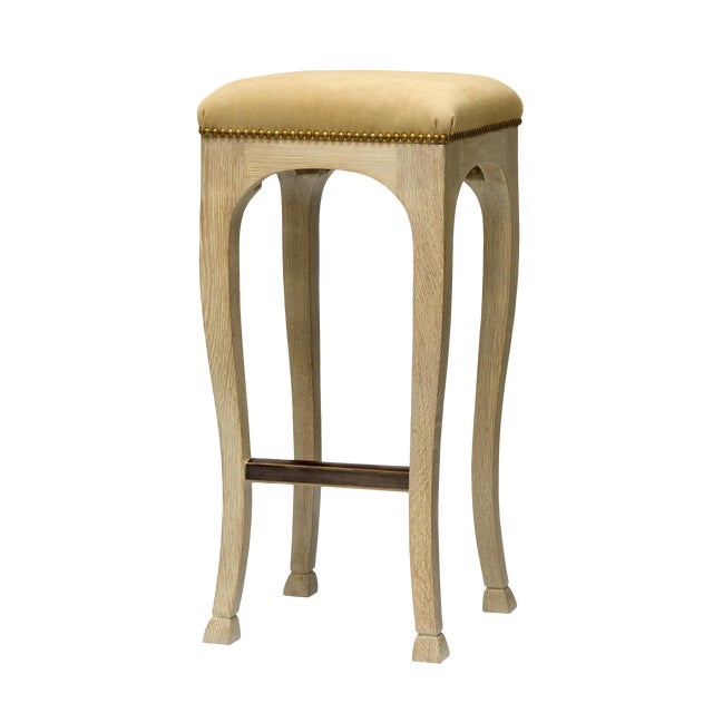 "Truex American Furniture ""Golden Gate"" Bar Stool - Image 1 of 5"