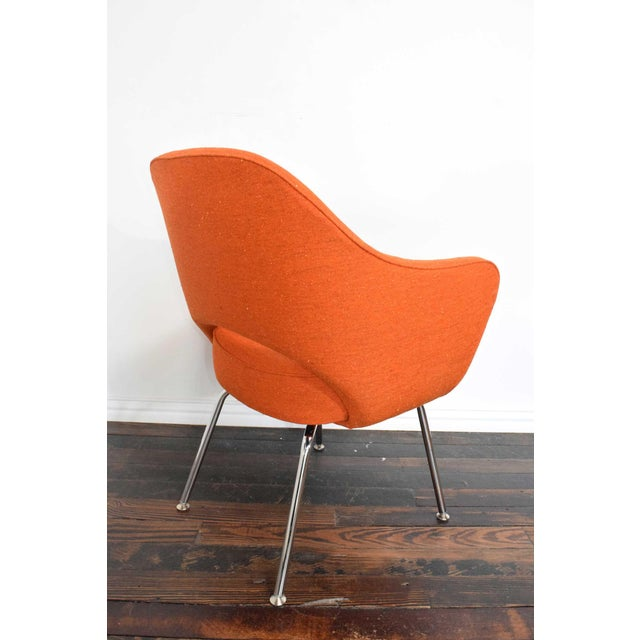 1970s Knoll Eero Saarinen Executive Armchair For Sale - Image 5 of 10