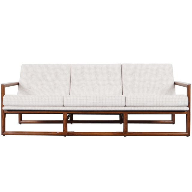 """Mid Century """"Cube"""" Sofa by Milo Baughman For Sale - Image 9 of 9"""