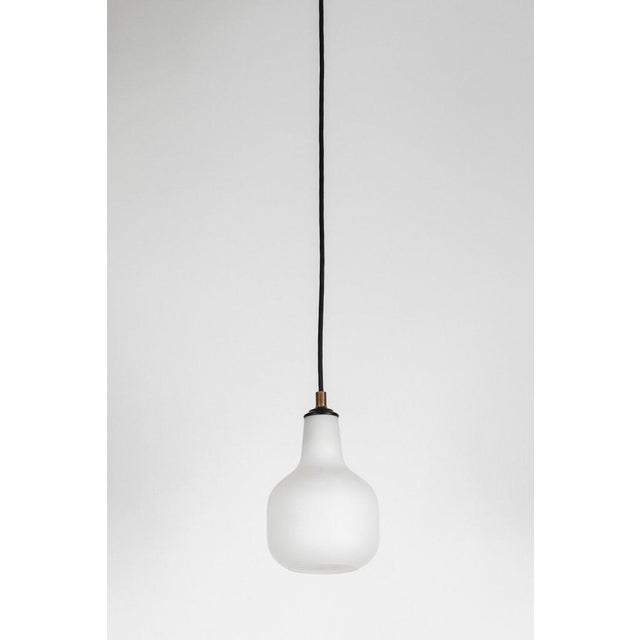 1950s Italian Glass Pendants Attributed to Stilnovo For Sale - Image 13 of 13