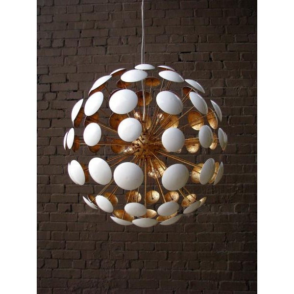 Mid-Century Modern Mid-Century Modern Sputnik Style Bilbao Pendant Light by Solaria Lighting For Sale - Image 3 of 8