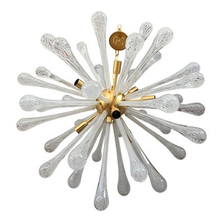 Modern Murano Glass Sputnik Chandelier For Sale