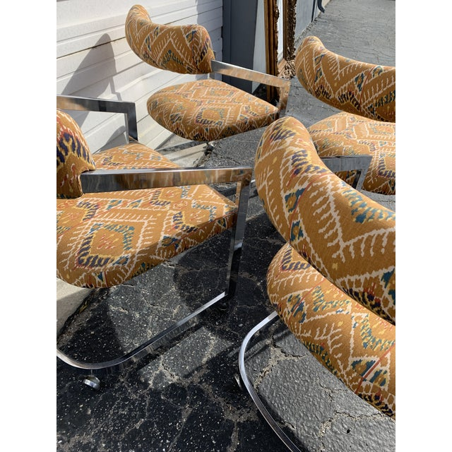 1980s Vintage Design Institute of America Chairs - Set of 4 For Sale In Miami - Image 6 of 8