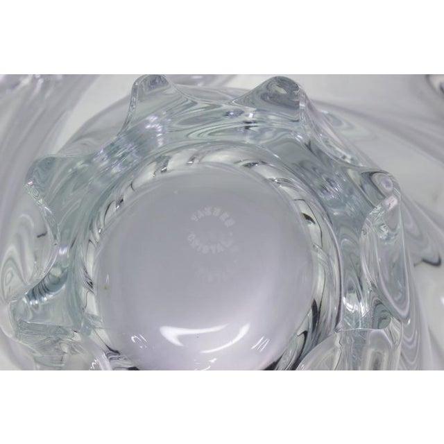 Vannes 1950s Crystal Bowl - Image 3 of 7