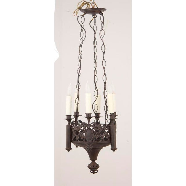 French Mid 19th Century Gothic Revival Chandelier For Sale - Image 3 of 5