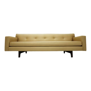 Edward Wormley for Dunbar Bracket Back Sofa For Sale