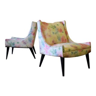 Mid Century Modern Harvey Probber Attributed Armchairs For Sale