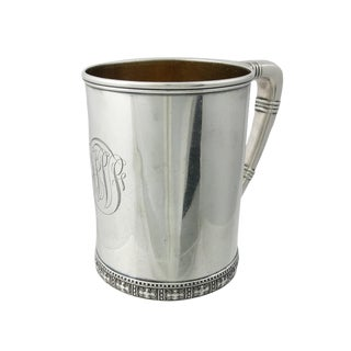 Late 19th Century Antique Tiffany & Co. Sterling Silver Cup For Sale