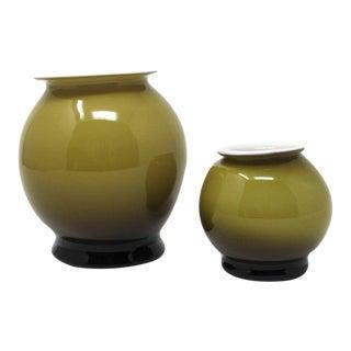 1960s Carlo Moretti Murano Glass Vases For Sale