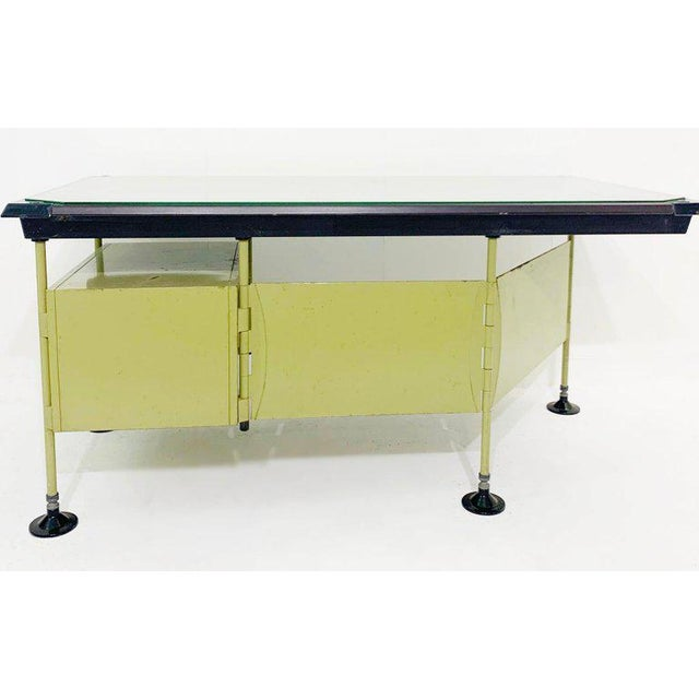 Italian Modernist Spazio Desk By Studio BBPR For Olivetti - 1959