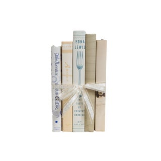 Neutral Gift Book Set for Her, (S/5) For Sale