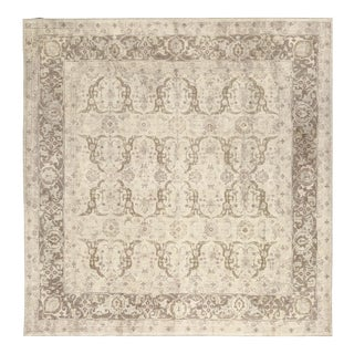 Transitional Hand Woven Rug - 9'9 X 9'10 For Sale