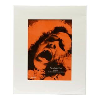Carrie, 1976 / Vintage Movie Ad Art Transparency, Orange Version For Sale