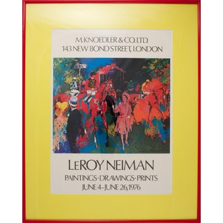 """Leroy Neiman """"Royal Ascot"""" Poster For Sale"""