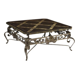 Maitland-Smith Coffee Table For Sale