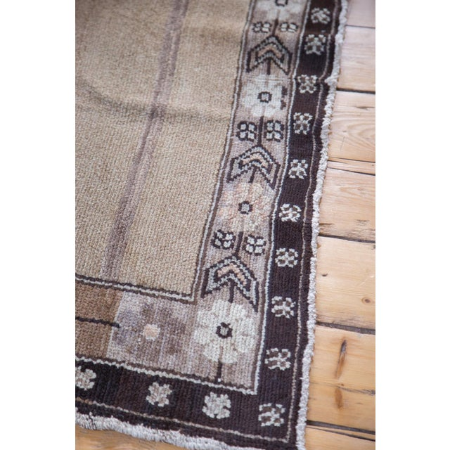 """Contemporary Distressed Oushak Carpet - 7' X 9'1"""" For Sale - Image 3 of 11"""