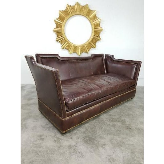 2020s Leather Sofa by Ferguson Copeland For Sale - Image 5 of 13