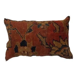 "Antique Rug Fragment Pillow - 1'6"" X 1'1"""
