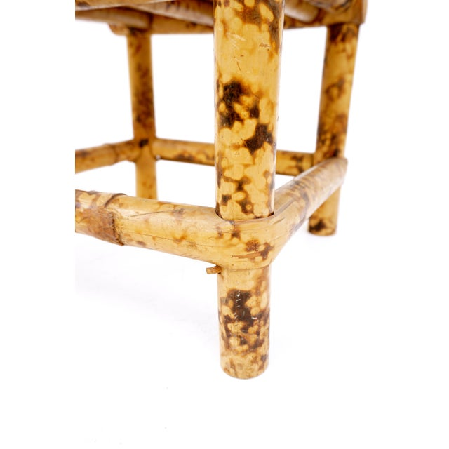 Bamboo Vintage Tortoise Bamboo Plant Stand For Sale - Image 7 of 11