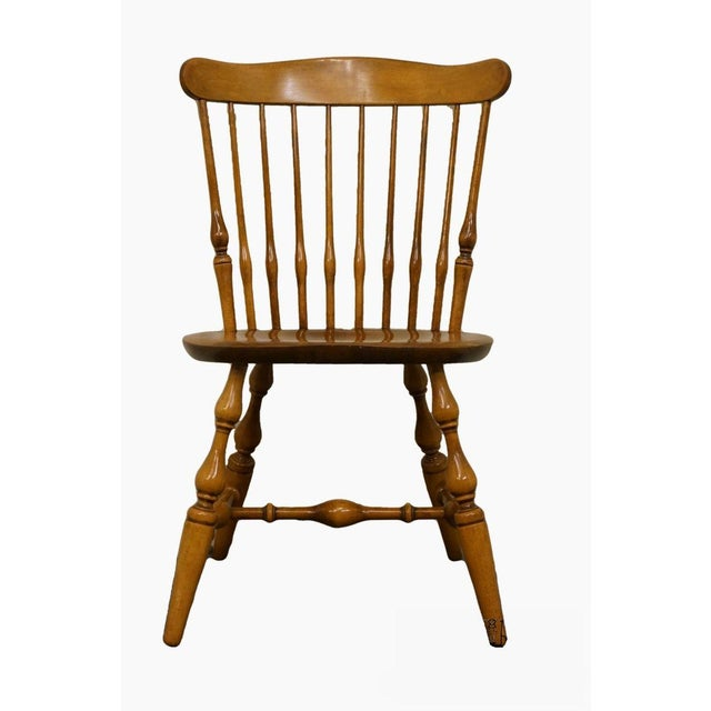 Nichols & Stone Gardener MA Old Pine Side Chair For Sale - Image 13 of 13
