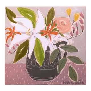April Florals 7 Original Painting by Marisa Añón For Sale
