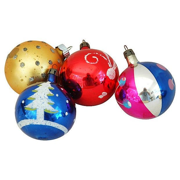 1960s Christmas Ornaments with Box - Set of 12 - Image 7 of 9