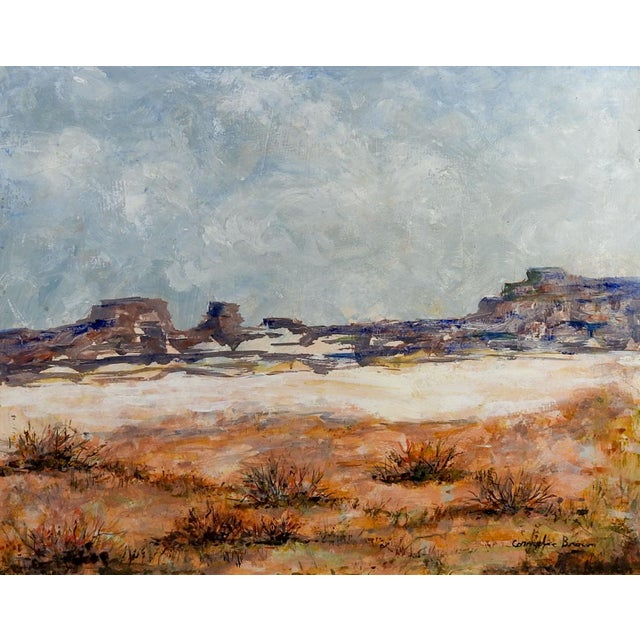 Rocky Desert Landscape Painting For Sale - Image 4 of 4