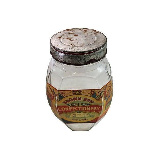 English Confectionery Jar - Image 2 of 3