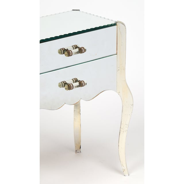 French Art Deco Mirrored Side Tables - A Pair - Image 9 of 10