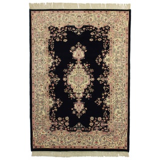 "Rugs in Dallas Hand Knotted Wool Rug - 5'5"" X 7'9"" For Sale"