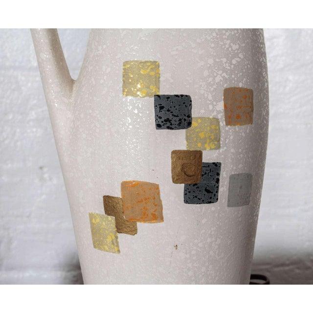 Tye of California Ceramic Lamp For Sale - Image 5 of 5