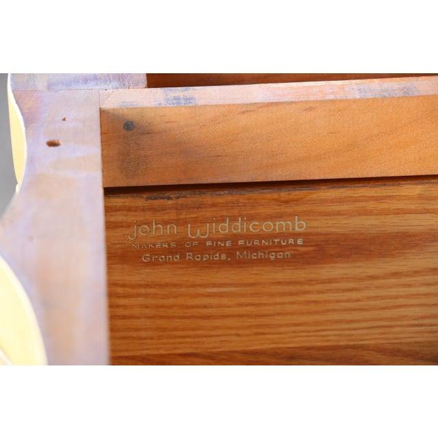 Contemporary John Widdicomb Dresser w/ Carrara Marble Top For Sale - Image 3 of 10