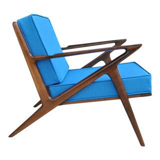 Vintage Mid-Century Z Chair by Poul Jensen for Selig For Sale