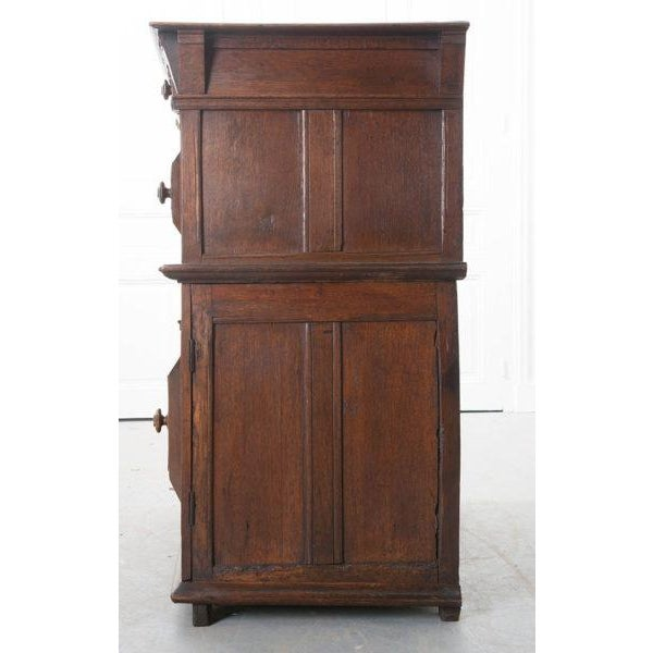 English 17th Century Charles II Oak Chest of Drawers For Sale - Image 11 of 13