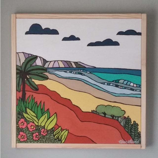 """""""Sand"""" Color Block Art by Kris Gould - Image 3 of 5"""
