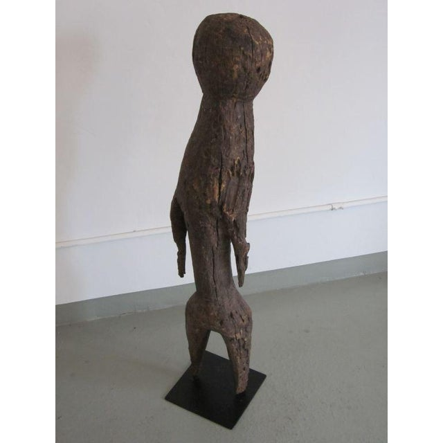 Carved Aftican Wood Sculpture from Togo For Sale - Image 4 of 8