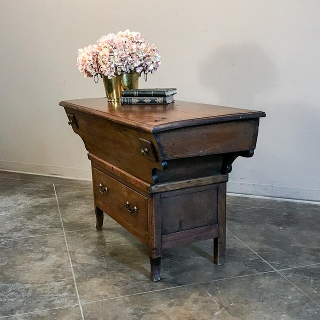 200 Year Old Directoire Period French Doughbox ~ Buffet For Sale In Dallas - Image 6 of 12