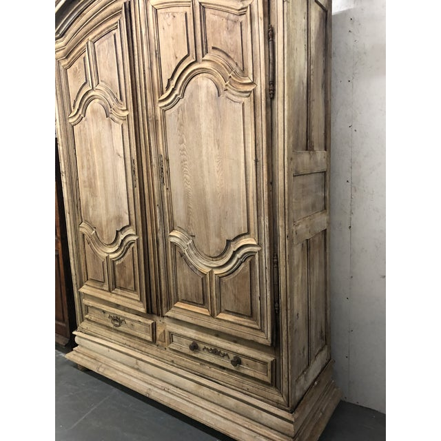 French French Louis XIV Dome Top Armoire For Sale - Image 3 of 13