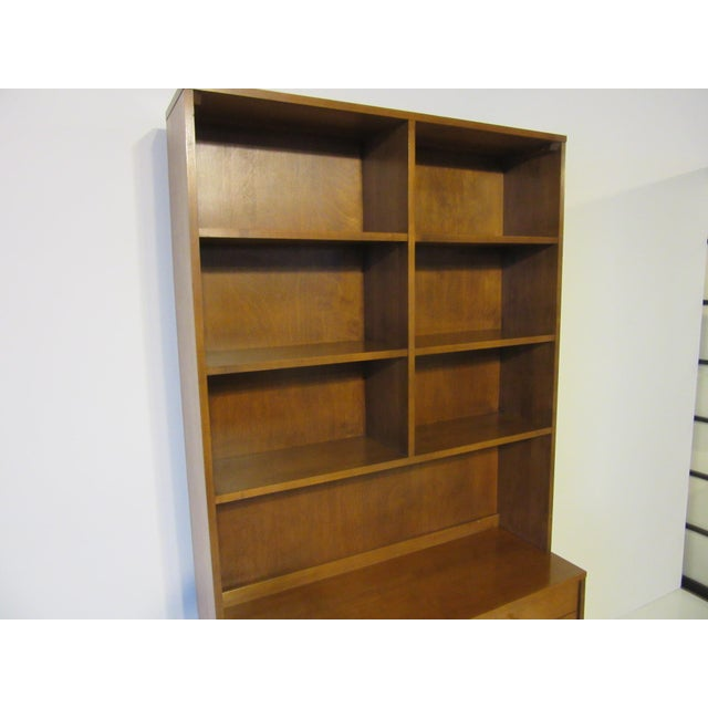 Planner Group Paul McCobb Planner Group Maple 2 Pc. Bookcase For Sale - Image 4 of 9