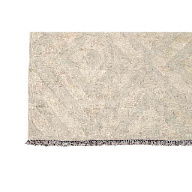21st Century Contemporary Turkish Kilim Wool Rug For Sale In New York - Image 6 of 12